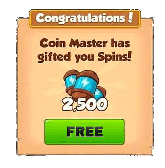 free spins coin master app