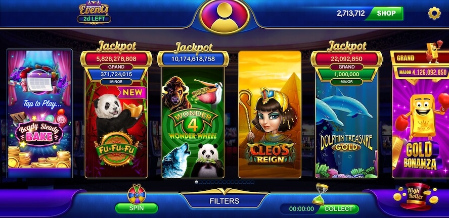 Heart of Vegas free coins and spins