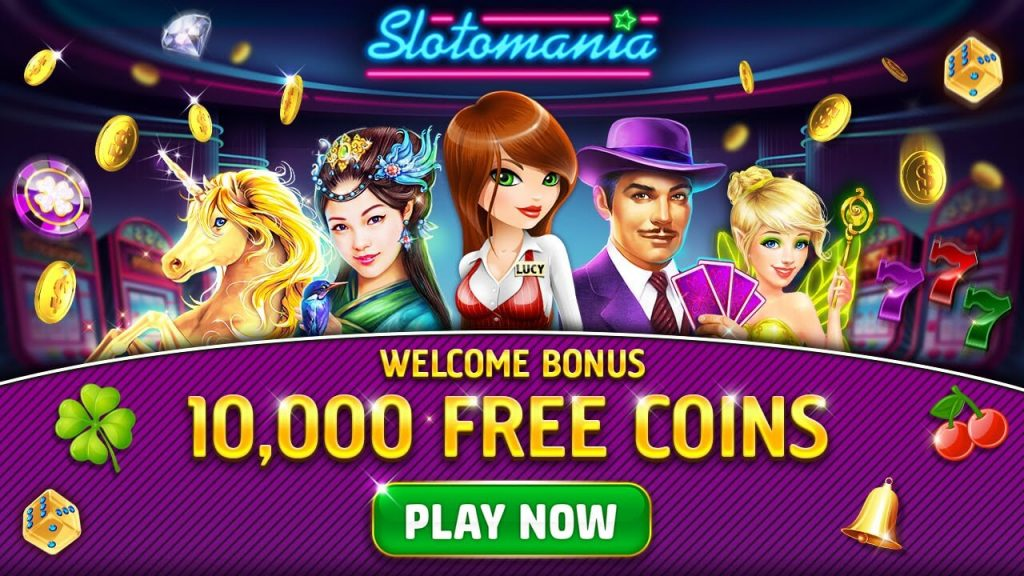 Slotomania free coins welcome bonus
